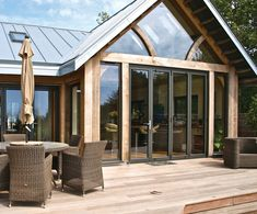 uPVC windows: It charms your guests every time! - what is upvc? uPVC windows - Weatherseal windows and doors Cottage Extension, House Extension Design, Extension Ideas, Garden Room Extensions, House Extensions, Upvc Windows, Windows And Doors, My Patio Design, House Design
