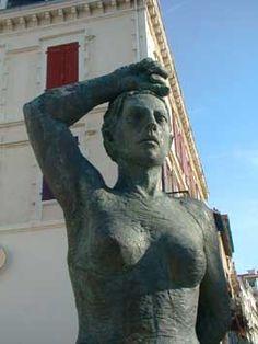 La Femme basque. Biarritz. Aquitaine