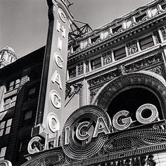 Chicago Theater Marquee by cevphoto on Etsy, $20.00