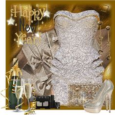 """Happy New Year!"" by ritadolce on Polyvore"