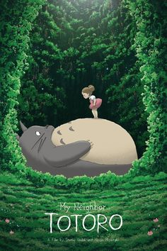 Totoro and Mei – Created by Kevin M. WilsonPrints available for sale at Hero Com… Totoro and Mei – Created Art Anime, Anime Kunst, Anime Artwork, Manga Anime, Studio Ghibli Films, Art Studio Ghibli, Studio Ghibli Poster, Hayao Miyazaki, Animation