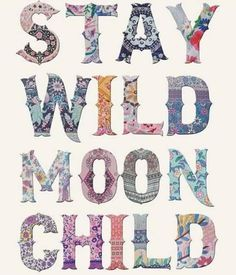 Secret Life, Moon Child, Wild Hearts, Wall Collage, Spirituality, Inspirational Quotes, Symbols, Letters, Boho