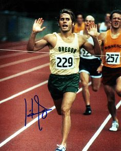 Jared Leto as the runner Prefontaine