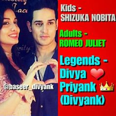 Divyank Perfect Couple, Romeo And Juliet, Beautiful Smile, True Words, Mtv, Love Of My Life, Qoutes, Relationships, Boss