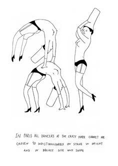 Illustration: Lisbon-based illustrator Lapo's series In Paris is almost too lovely Crazy Horse Paris, Minimalist Drawing, Bad To The Bone, Central Saint Martins, Mark Rothko, Cute Illustration, Lisbon, Storytelling, Illustrators