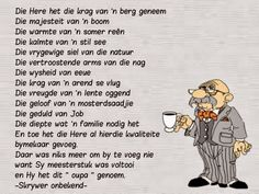 Oupa Wish Quotes, Dad Quotes, Family Quotes, Fathers Day Poems, Happy Birthday Husband, Happy Birthday Wishes Quotes, Afrikaanse Quotes, Kids Poems, Father's Day