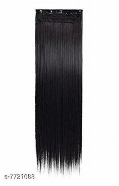 Hair Accessories Womens Black Hair Extension Material: Fiber Multipack: 1 Sizes:  Free Size (Length Size: 15 cm Width Size: 12 cm)  Country of Origin: India Sizes Available: Free Size   Catalog Rating: ★4.2 (466)  Catalog Name: Princess Elegant Women Hair Accessories CatalogID_1257472 C72-SC1088 Code: 503-7721688-994