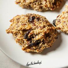 zdrowe ciasteczka owsiane szybki przepis bezglutenowy i wegański