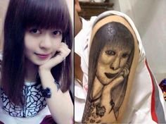 25 Funny Tattoo Fails That Are So Bad, They're Hilarious Tatoo Fail, Funny Tattoos Fails, Funny Fails, Really Bad Tattoos, Terrible Tattoos, Worst Tattoos, Tattoos Gone Wrong, No Regrets Tattoo, Permanent Makeup Eyebrows
