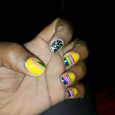 Ok guys it's about to be and overload of my art work of my nails on ig & fb just noticed I did my nails so many times in different styles and pic need to start  a business lol