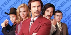 What Anchorman Was Originally About, According To Will Ferrell #FansnStars