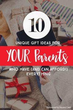 Unique gift ideas fo
