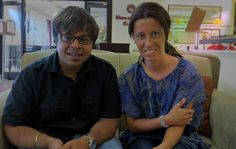 After interview with Shashank Subramanyam a Grammy nominated flute maestro. Jónás Ágnes. CorrectMedia #correctmedia