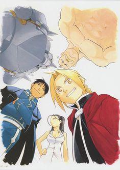 Hiromu Arakawa, BONES, Fullmetal Alchemist, Edward Elric, Alex Louis Armstrong