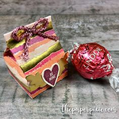 Mini Valentine's Milk Carton - The Paper Pixie Valentine Treats, Saint Valentine, Valentines, Candy Bar Cards, Truffle Boxes, Mini Milk, Treat Holder, Stamping Up, Small Gifts