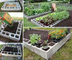 Cinder blocks are easy to work with. If you have missed, here is how to build DIY vertical cinder garden planter and here is how to make DIY garden bench we have shown you before. Today, we are going