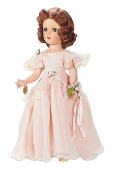 vintage bridesmaid doll by madame alexander