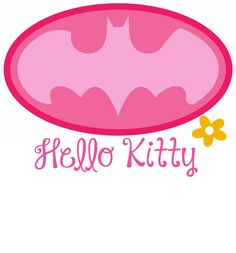 batman - hello kitty