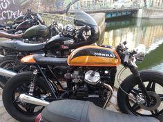 Paris Classic Motos, Honda CB 450 cafe racer, Paris 10ème