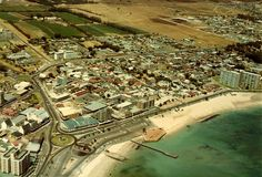 Strand in the early The George Street Light Industrial area as well as the Twin Palms residential area is not yet developed & the old farm of the area is still visible. Old Pictures, Old Photos, Old Farm, Africa Travel, Cape Town, South Africa, City Photo, Old Things, History