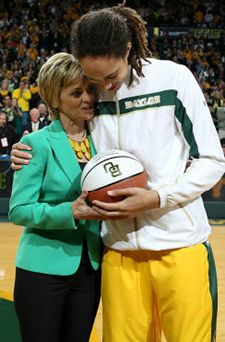 Kim Mulkey: Big 12 Coach of the Year, 2011-12-13.  Brittney Griner: Big 12 Player of the Year, 2011-12-13.