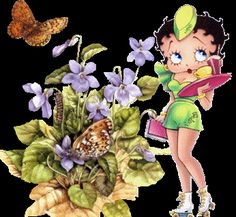 Pictures Animations Betty Boop MySpace Cliparts