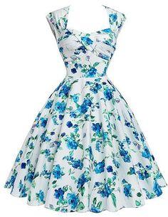 52dd667a588 Retro Vintage Dresses 1950s Rockabilly Summer Dress Audrey Hepburn Cotton  Hollowed Back Dress