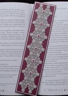 parchment craft - bookmark
