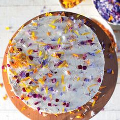 Almost Too Pretty to Eat: Edible Flower Desserts