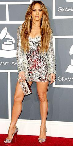 Jennifer Lopez #hair #makeup #LEGS