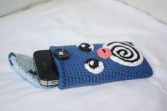 Poliwag / Quapsel - Crochet Pokemon - phone case