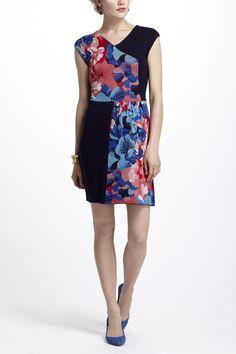 Patchwork Jacquard Dress - Anthropologie.com