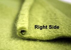 Tips for sewing with fleece.                                                                                                                                                                                 More