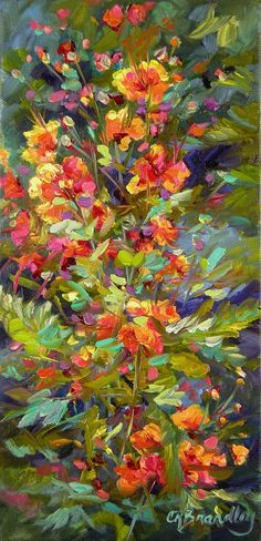 Blossoms Of Hope Painting by Chris Brandley