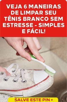 6 maneiras de como limpar seu tênis branco sem estresse