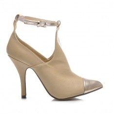 SZPILKI CUT OUT 3845-1BE /S1-85P Booty, Heels, Shopping, Summer, Fashion, Heel, Moda, Swag, Summer Time