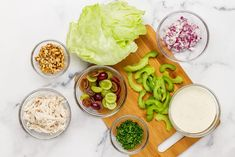 Chicken Waldorf salad is a classic salad filled with flavour and is really easy to make. Try my version of this popular meal! Kayla Itsines, Easy Salads, Summer Salads, Small Food Processor, Food Processor Recipes, Waldorf Salat, Waldorf Chicken Salad, Carb Free Recipes, Classic Salad