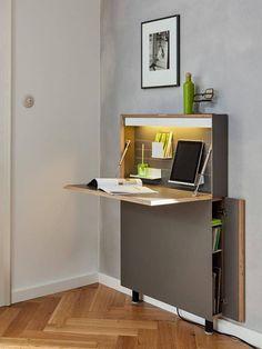 Müller Small Living Flatmate Sekretär LED – Home Office Design Diy