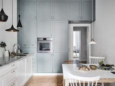 Lámparas colgantes sobre la encimera iluminación cocinas cocinas sin muebles superiores cocinas pequeñas cocinas nórdicas cocinas modernas blog decoración nórdica