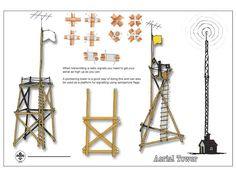 JOTA JOTI Games 03 Aerial Towers - Created on Tactilize Chandelier, Challenges, Ceiling Lights, Scouting, Towers, Ankara, Games, Ideas, Cover Pages