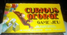 Vintage Curious George board game published by Parker Brothers as game Incomplete (see below). Games Box, Games To Play, Curious George Games, Bored Games, What Is Miss, Vintage Board Games, Bristol Board, 40 Years Old, Game Pieces