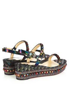 7c33e636a0b Christian Louboutin Cataclou 60mm flatform sandals Get Dressed