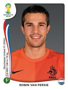145 Robin Van Persie - Holanda - MUNDIAL BRASIL 2014