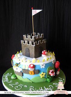 Super Mario Cake...this one seems more manageable