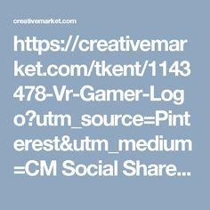 https://creativemarket.com/tkent/1143478-Vr-Gamer-Logo?utm_source=Pinterest&utm_medium=CM Social Share&utm_campaign=Product Social Share&utm_content=Vr Gamer Logo ~ Logo Templates on Creative Market