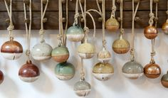 deep love for these ceramic bells