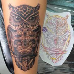 #owl #tattoo #design