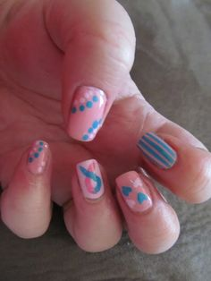 It's all about the polish - International Pregnancy and Infant Loss Awareness month Blue Nails, My Nails, Gender Reveal Nails, Excessive Hair Loss, Infant Loss Awareness, Pregnancy And Infant Loss, Hair Loss Causes, Hair Loss Women, Hair Loss Remedies