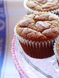 Grain Free Carrot Cake Muffins (Gluten Free, SCD, GAPS, Paleo)  #glutenfree #grainfree #paleo