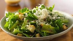Everyone loves Caesar salad! Here's one big enough to serve the whole gang!